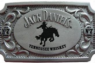 JACK DANIEL'S RECTANGLE BRONCO BELT BUCKLE (5020JD)