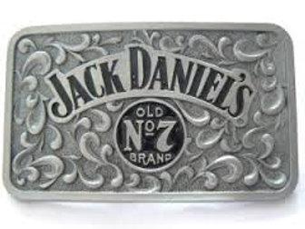 JACK DANIEL'S CLASSIC BUG LOGO BELT BUCKLE