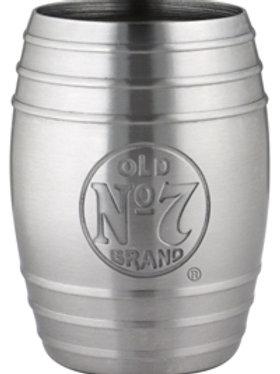 Jack Daniel's Barrel Shot Etched Bug Logo