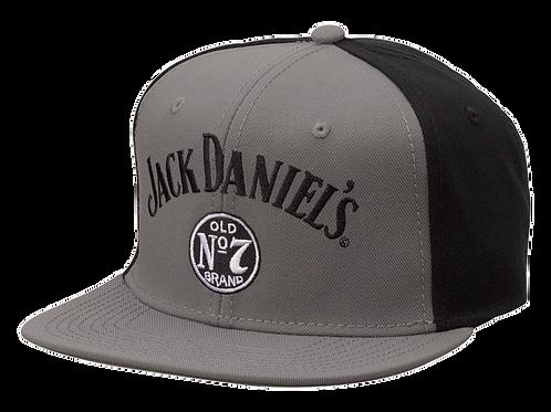 Flat Bill Black Jack Hat