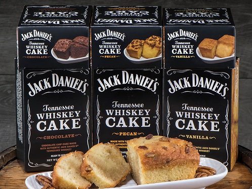 Jack Daniel's Tennessee Whiskey Cake-10 OZ-NEW LARGER SIZE