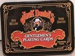 JACK DANIEL'S PLAYING CARDS IN TIN