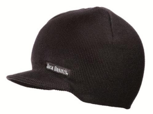 Beanie-Skull Cap-Stocking Cap-With Small Bill