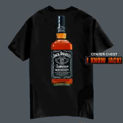 I KNOW JACK Bottle Tee