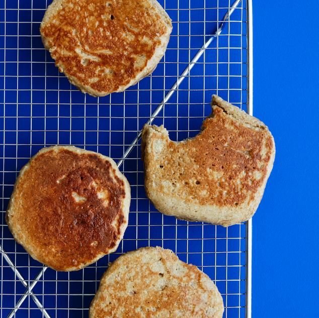 Weekday Oat Pancakes