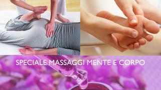 speciale massaggi MENTE e CORPO