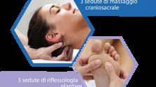 Promozione:  3 sedute di massaggio craniosacrale e 3 sedute di riflessologia plantare a soli 300€
