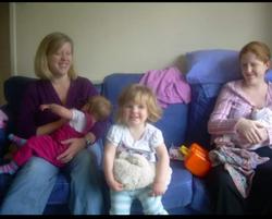 Group breastfeeding