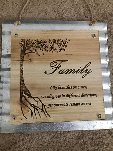 Family Hanging Board