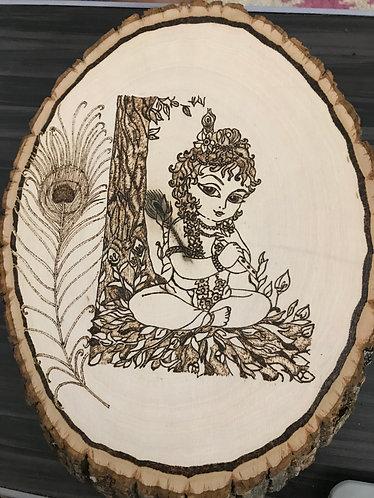 Lord Krishna Plaque