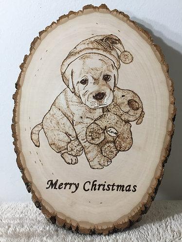 A Cute Christmas Plaque