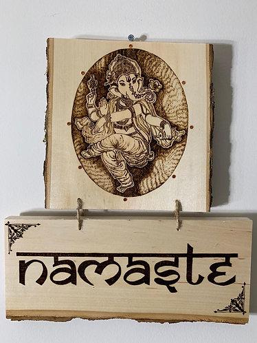 Lord Ganesh Welcome Board