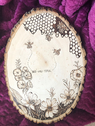 Bee-You-Tiful Plaque