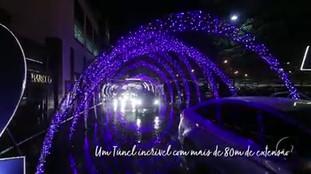 Túnel Encantado Center Shopping Uberlândia 2018