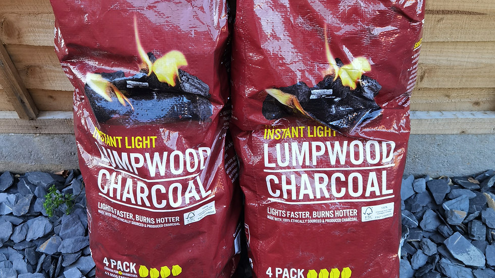 2 Bags of Charcoal