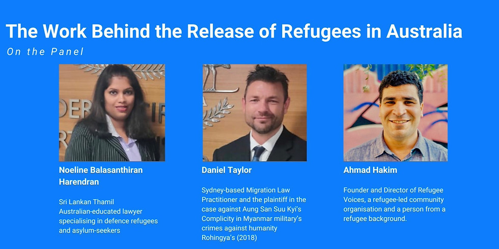 The Work Behind the Release of Refugees in Australia