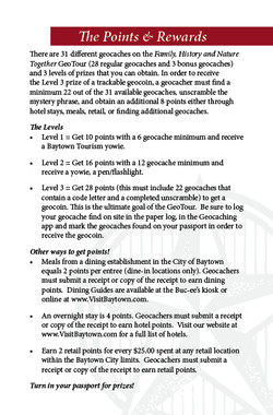 Baytown GeoTour Passport Page 3