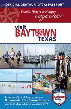 Baytown GeoTour Passport Page 1
