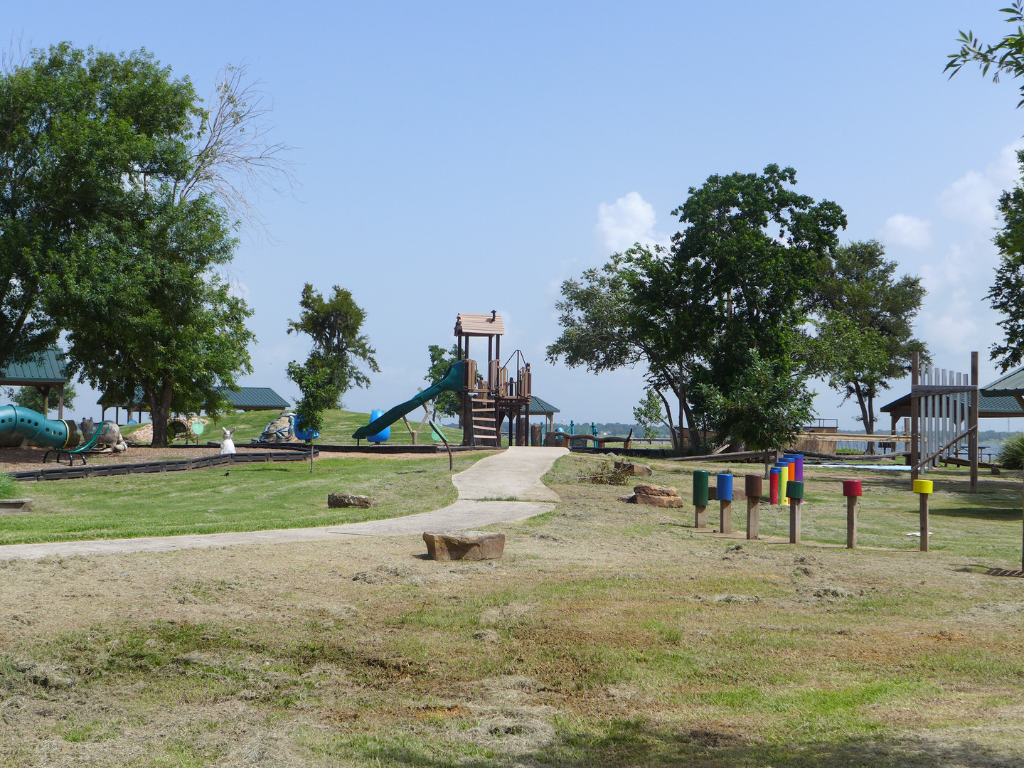 Childrens area at the Baytown Nature Center