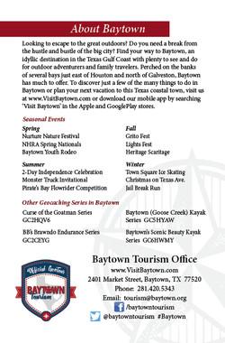 Baytown GeoTour Passport Page 8
