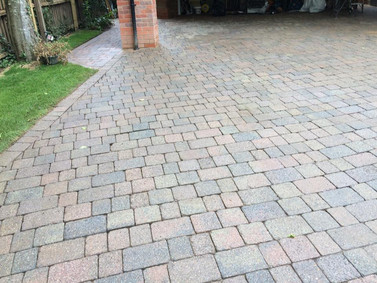 Front Drive Pressure Washing