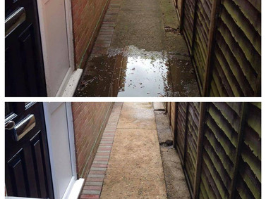 Front and Back Patio Washing