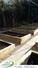 Raised bed garden creation