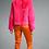Thumbnail: Cropped Rex Fur Jacket