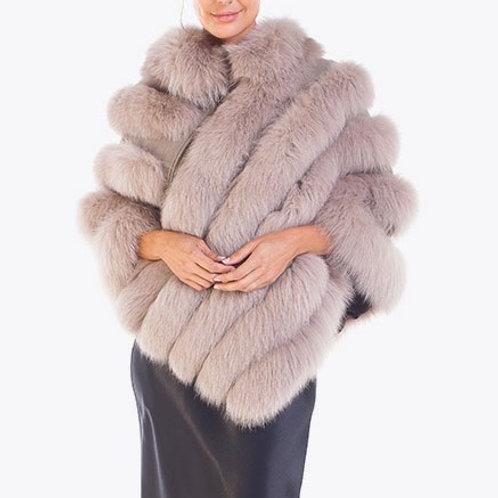 Fox Fur Poncho