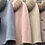 Thumbnail: Buttoned cashmere/wool blend capelet with detachable fox fur collar