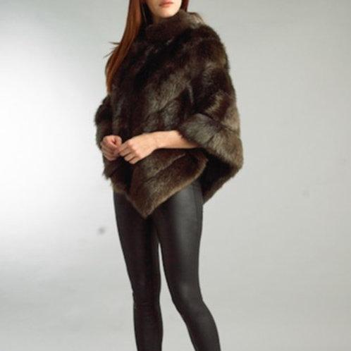 Beaver Fur Poncho