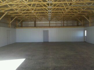 Pole Barn Building