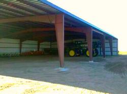 Steel Equipment Storage Building
