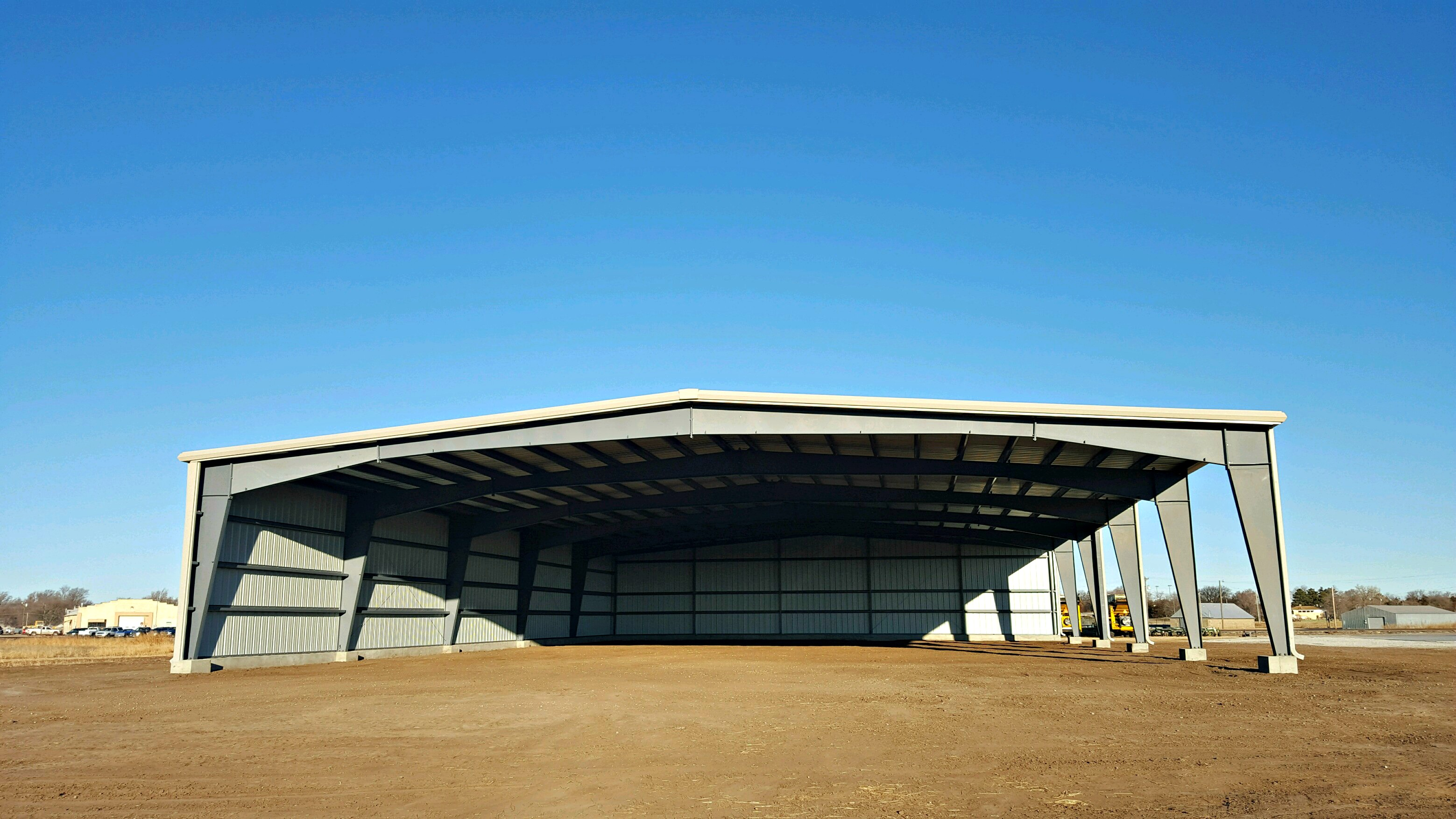80' x 120' x 16' All Steel Building