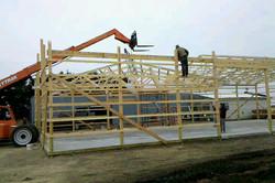 Pole-Barn Building