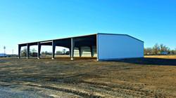 80' x 120' x 16' All Steel Building