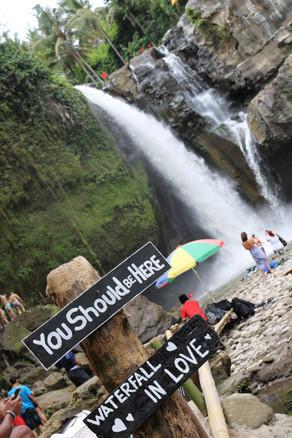 Bali wellness retreat, Waterfalls