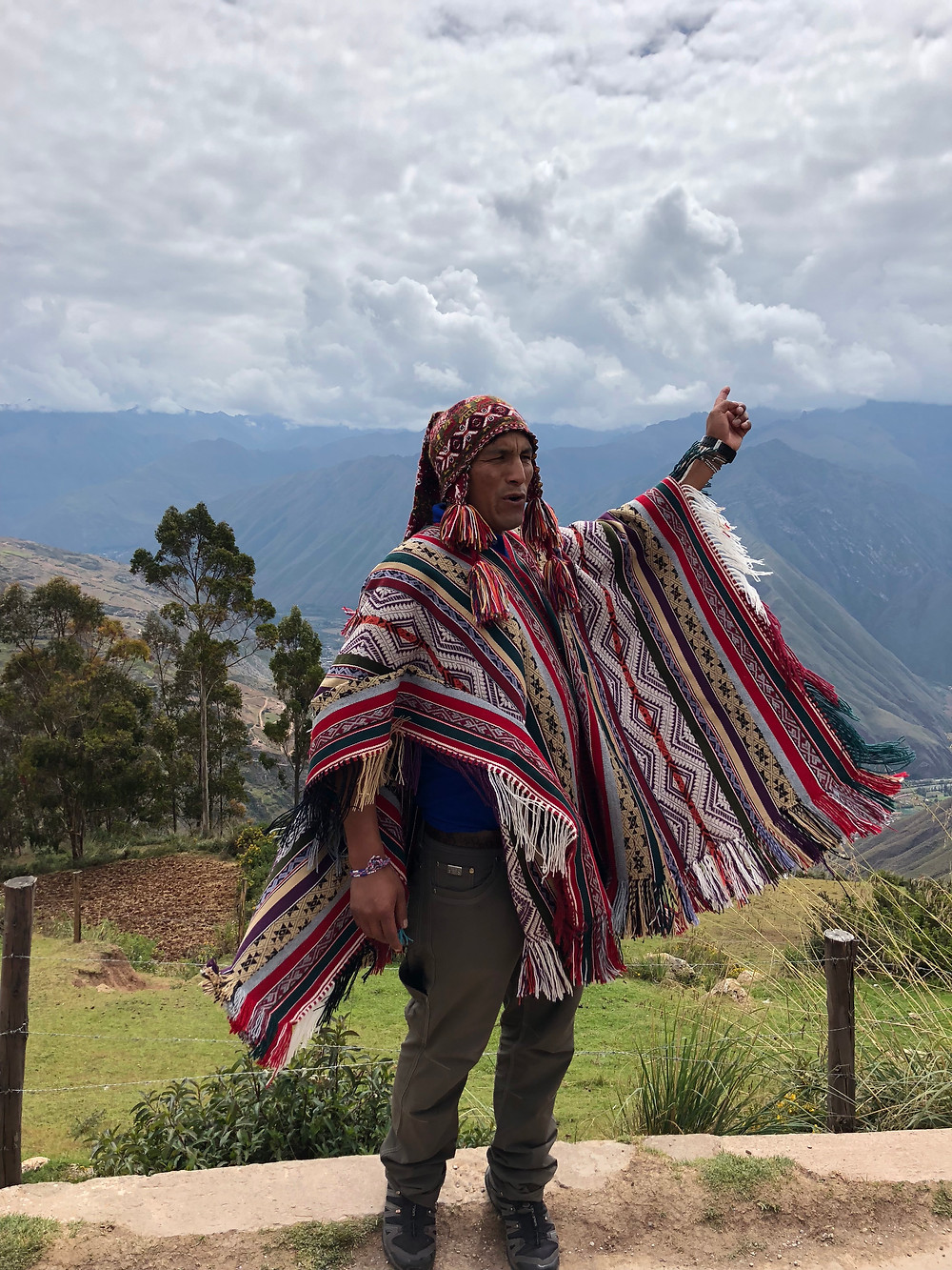 Valentin of Pachamama Journeys, out local Peru tour guide that everyone fell in love with.
