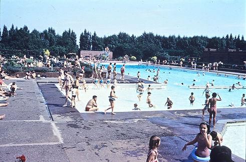 Rivacre Baths 1960s