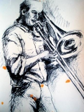 Trombonespeler