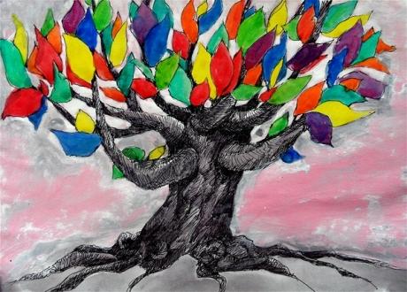 Kleurboom