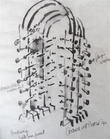 Waterpoort (ontwerptekening)