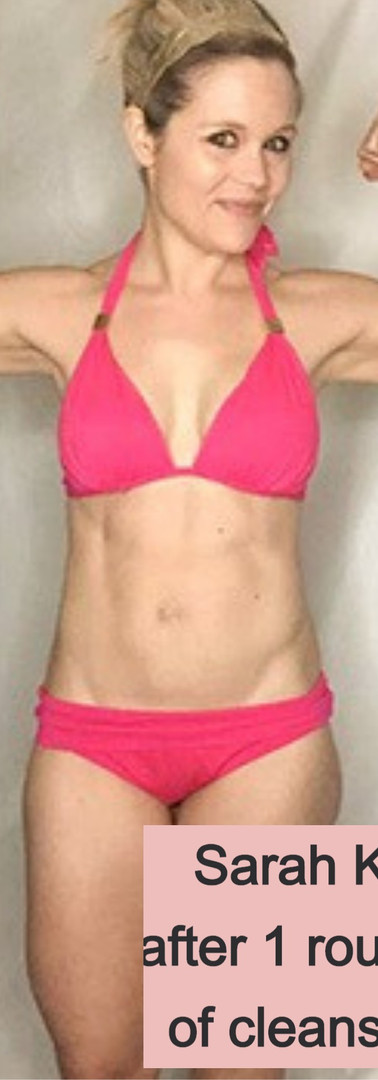 Sarah K's after cleanse photo