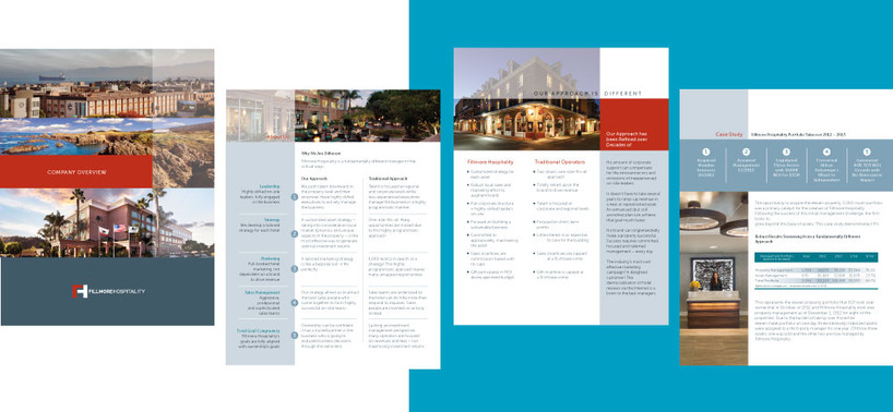 Fillmore Hospitality Overview Package
