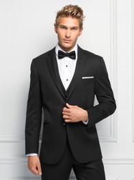 Ultra Slim Black Sterling Suit