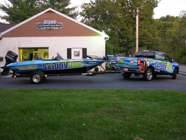 Truck & Boat Wrap