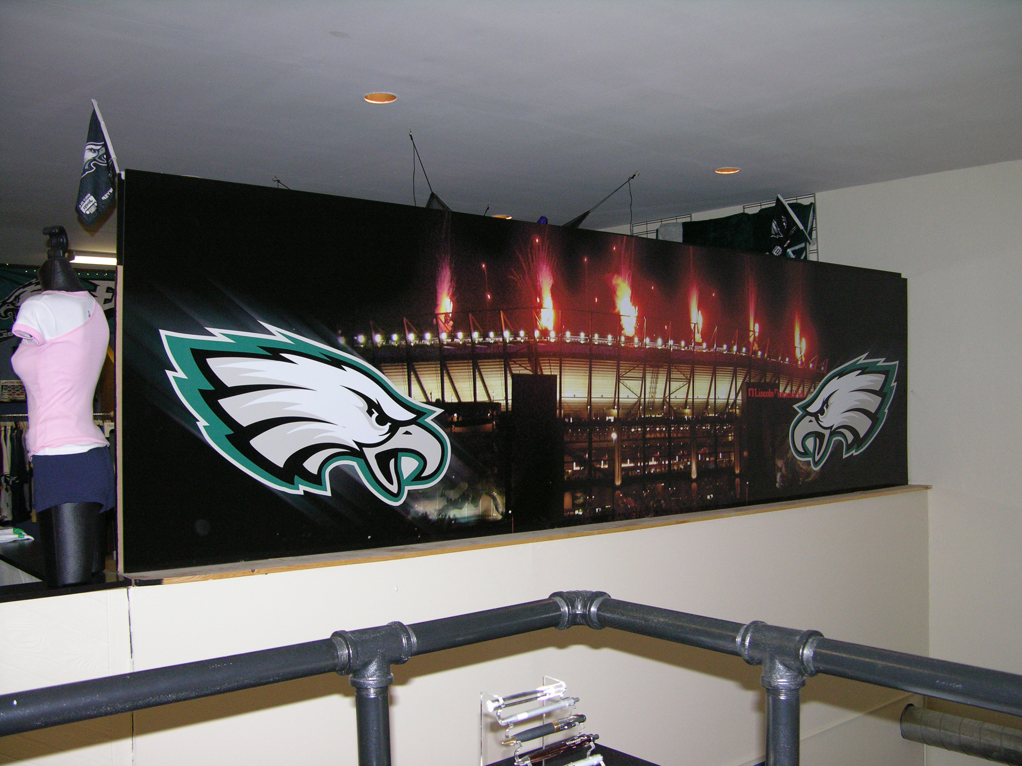 Interior Wall Sign