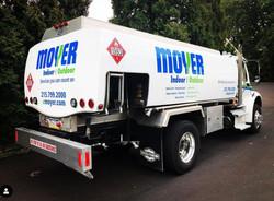 Tanker Truck Lettering