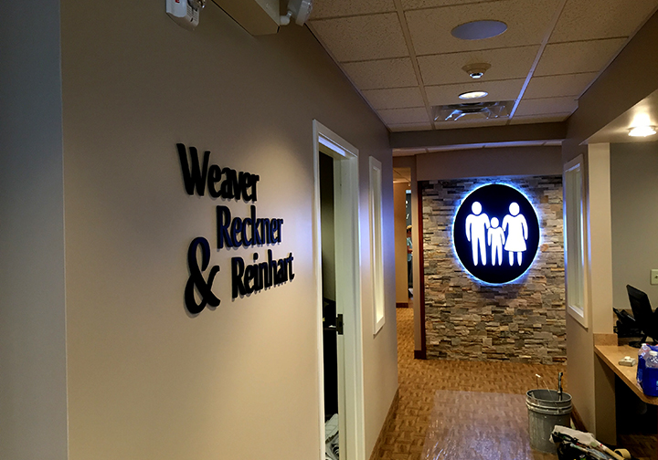 Wall Letters & LED Lit Sign