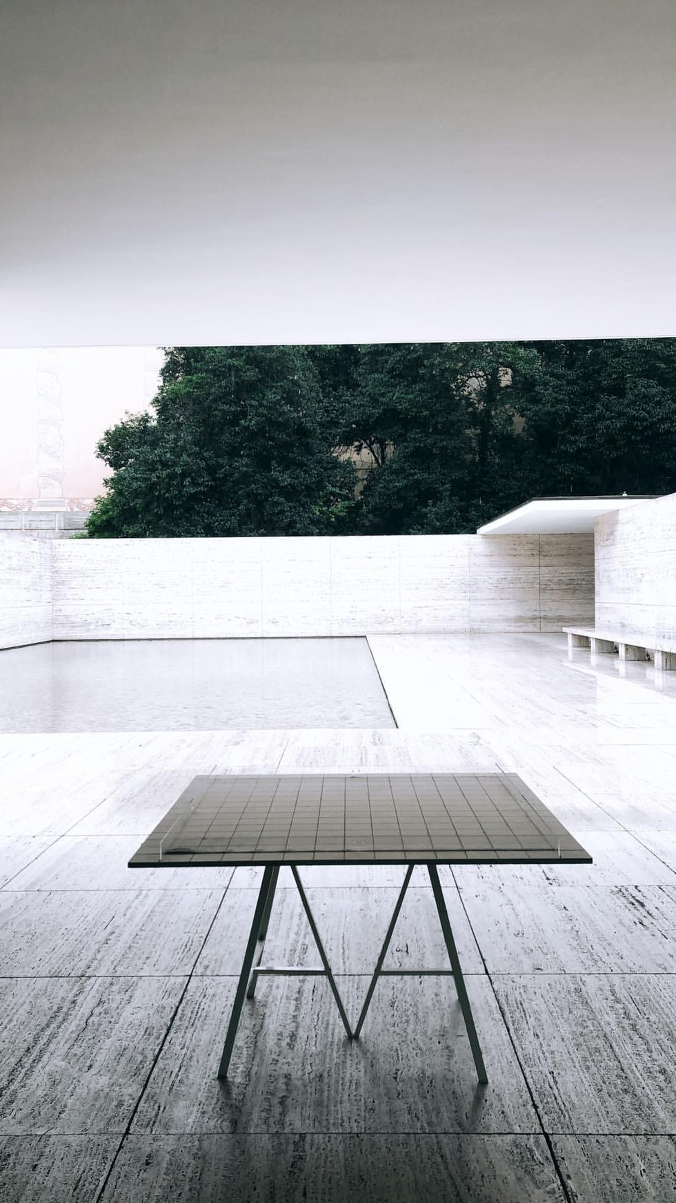 Our exhibition at Mies van der Rohe's Barcelona Pavilion